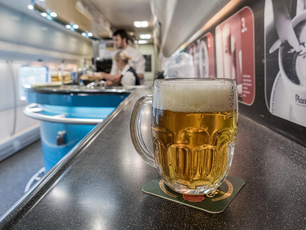 Bier Bordbistro Pendolino Tschechien