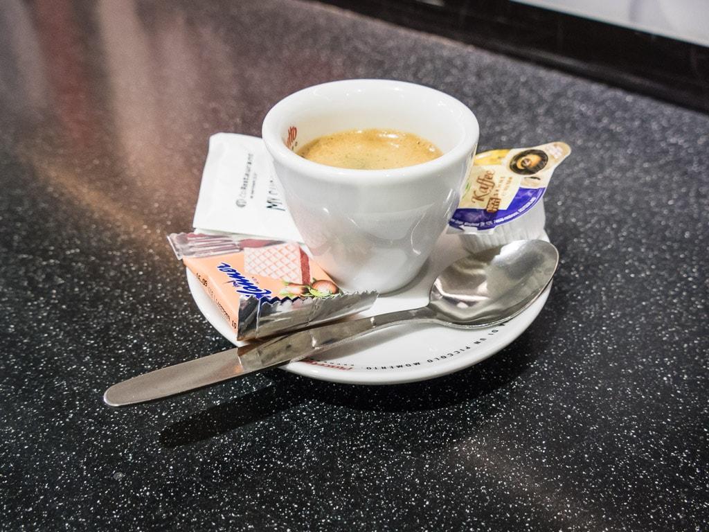 Kaffee Bordbistro Pendolino Tschechien