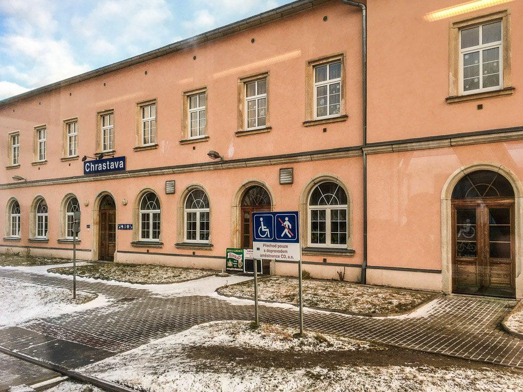Bahnhof Chrastava Tschechien
