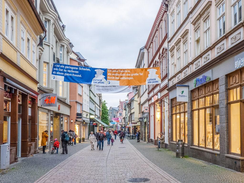 Innenstadt Eisenach