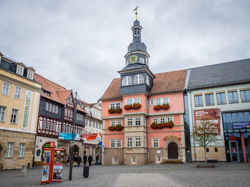 Rathaus Eisenach Innenstadt
