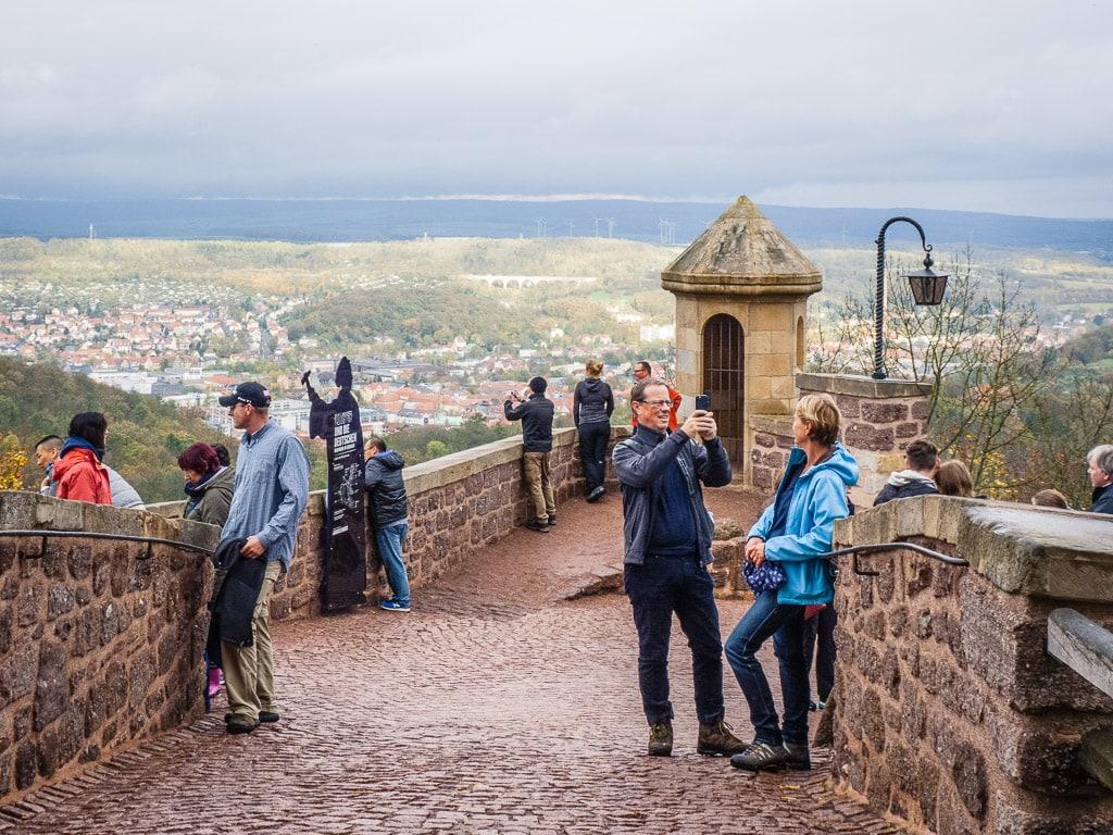 Eisenach Wartburg Aussicht
