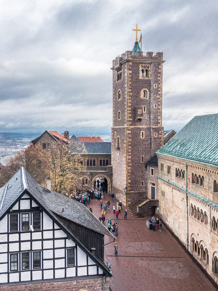 Bergfried Wartburg Eisenach