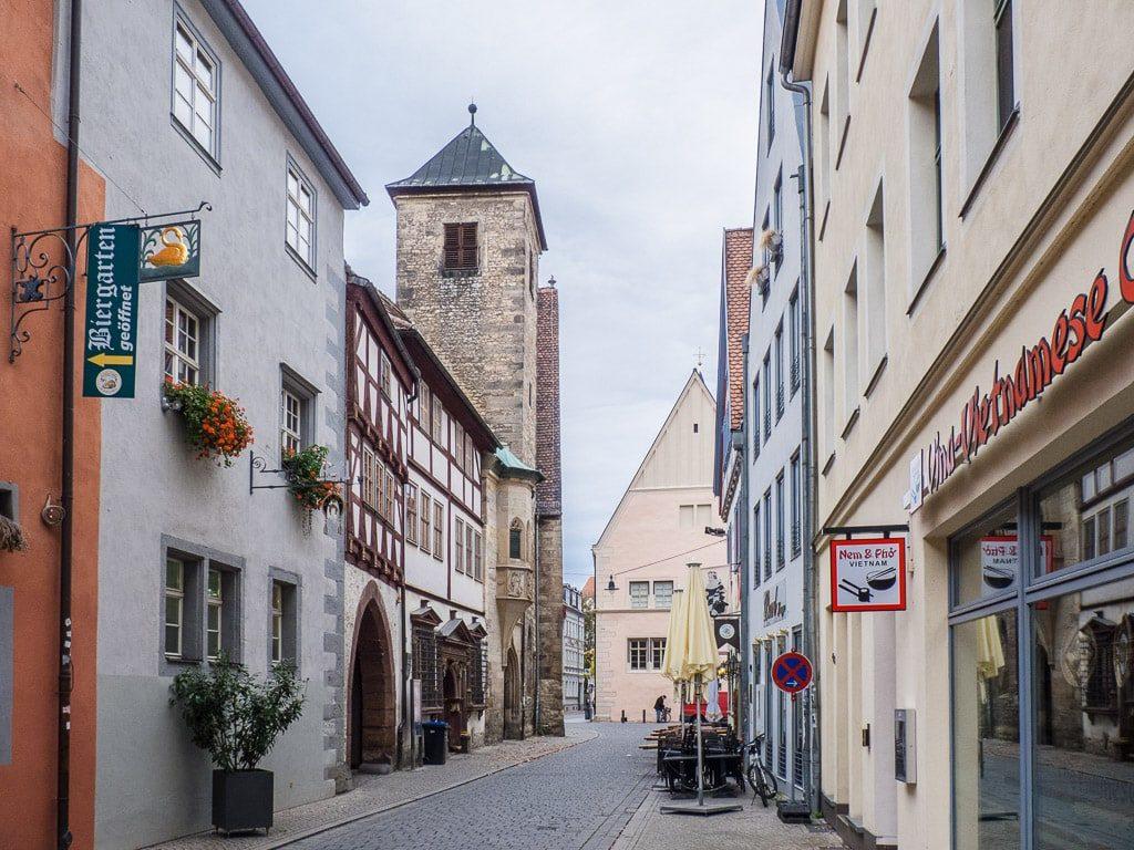 Collegium Maius und Michaeliskirche Erfurt