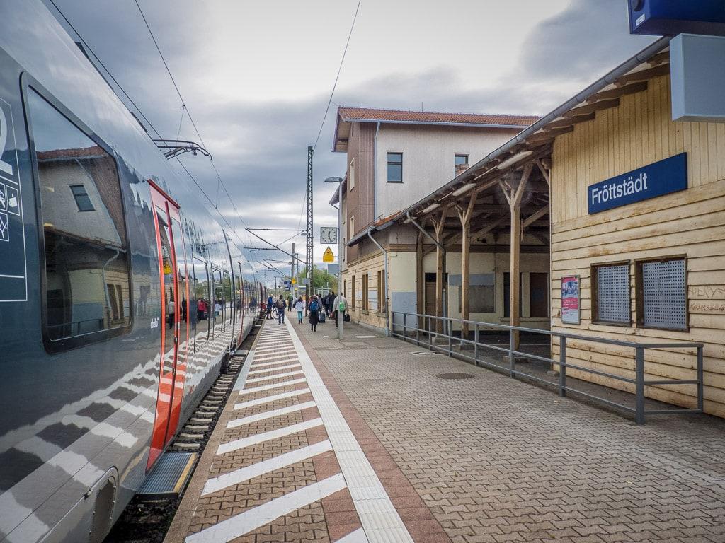 Bahnhof Fröttstädt
