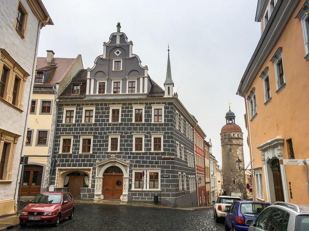 Altstadt Görlitz Gebäude Turm