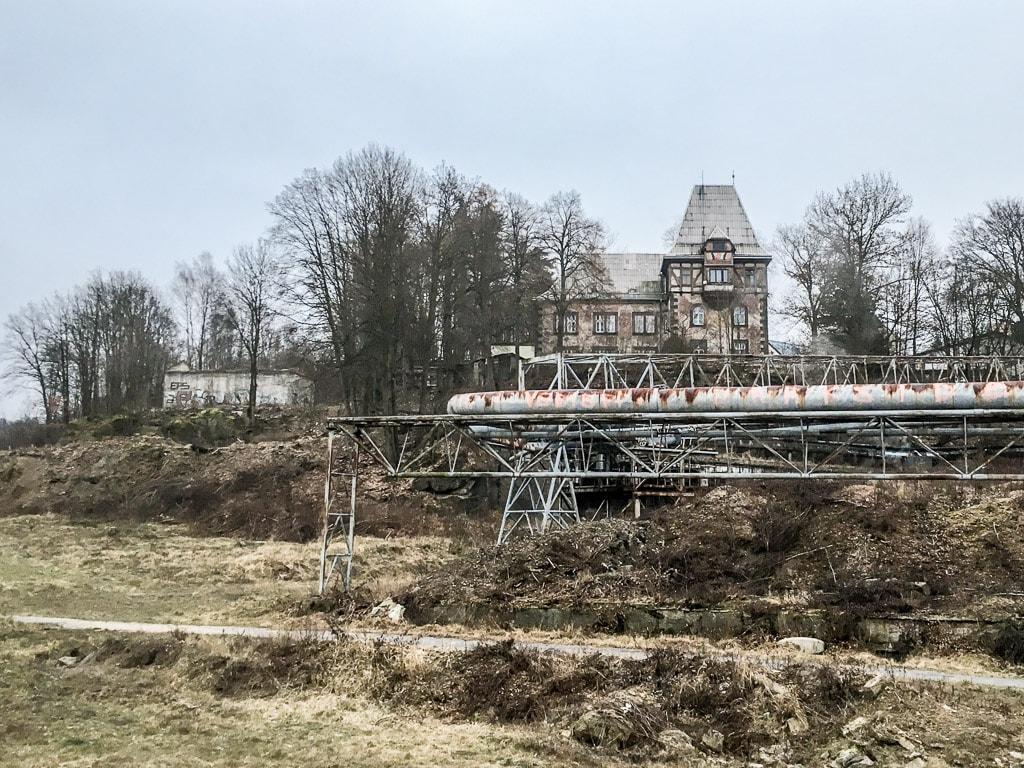 Textilana Fabrik Ruine Liberec