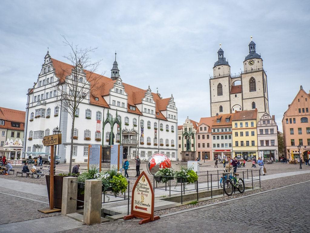 Marktplatz Lutherstadt Wittenberg