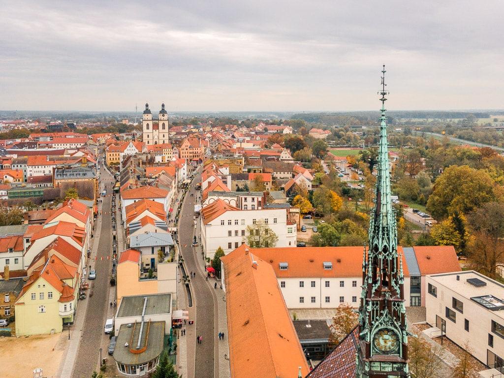 Ausblick auf Lutherstadt Wittenberg
