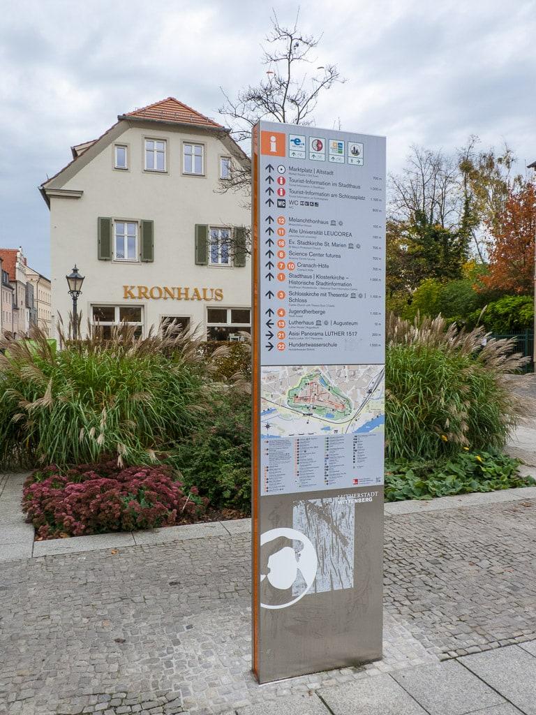 Lutherstadt Wittenberg Eingang Innenstadt