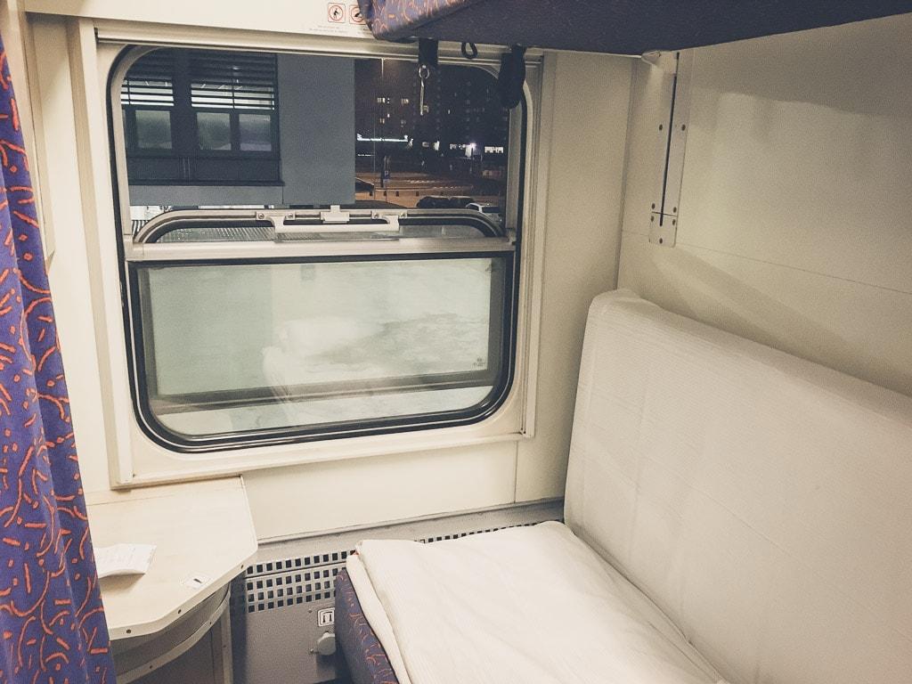 Schlafwagen Abteil Nachtzug Polen