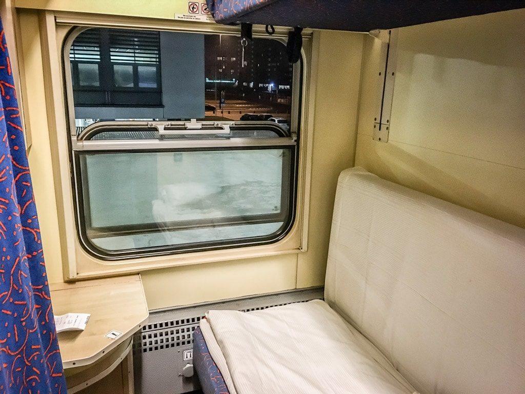 Abteil Schlafwagen Polen Nachtzug Uznam