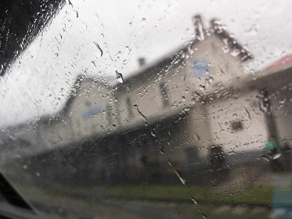 Regen im Slowakischen Karst