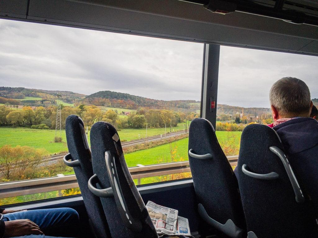 Schienenersatzverkehr zwischen Erfurt und Eisenach
