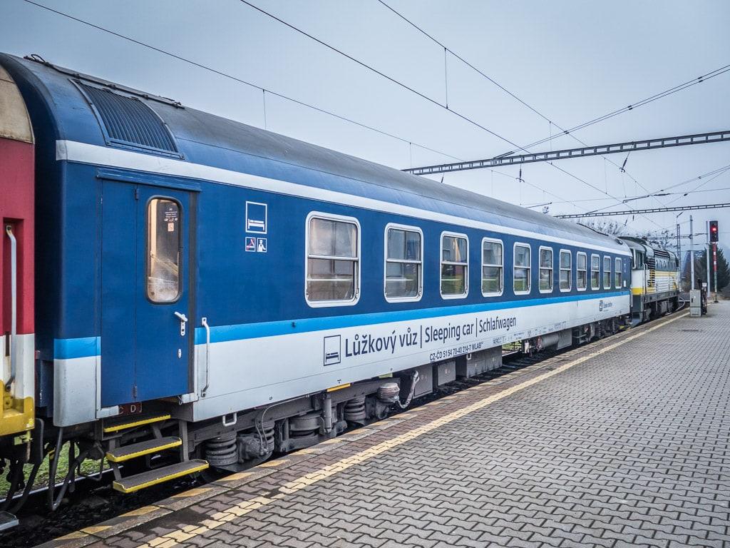 Görlitzer Schlafwagen Prag Banska Bystrica Zvolen
