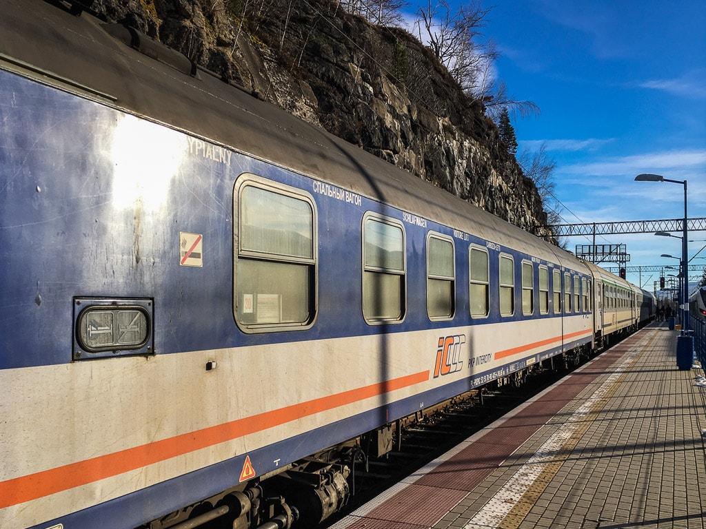Bahnhof Szklarska Poręba Górna Nachtzug