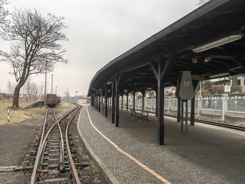 Zittau Schmalspurbahn Bahnhof