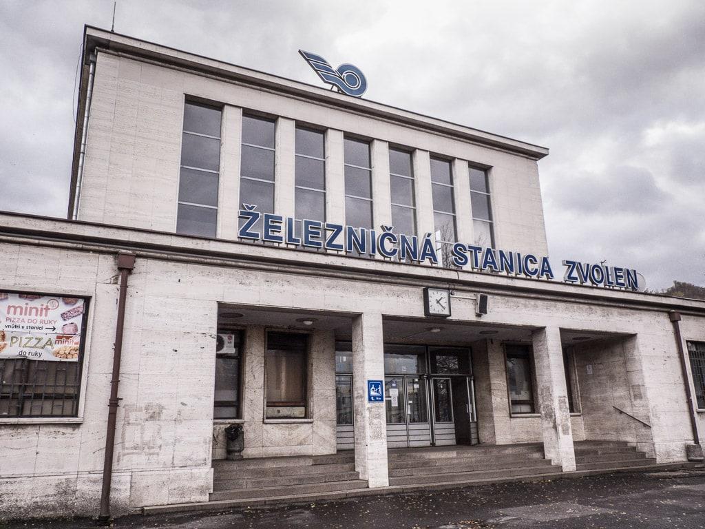 Bahnhof Zvolen Empfangsgebäude