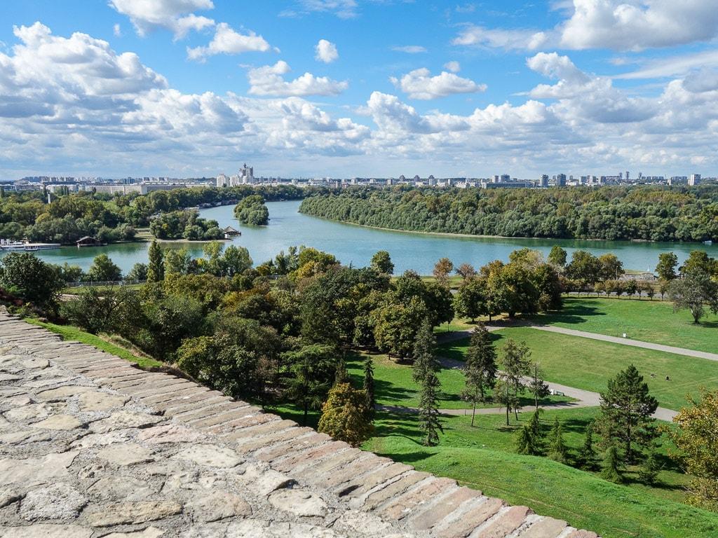 Belgrad Donau Save