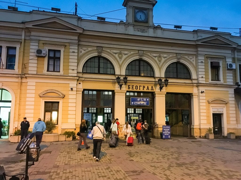 Belgrad Hauptbahnhof
