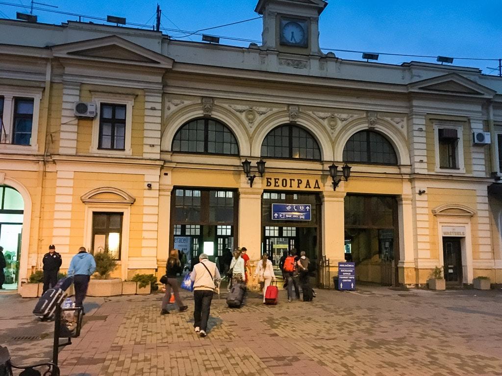 Belgrad Hauptbahnhof Empfangsgebäude