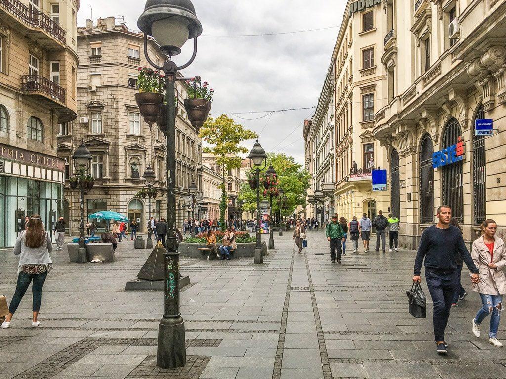 Innenstadt Belgrad