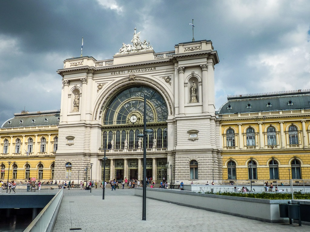 Budapest Keleti Bahnhof Empfangsgebäude