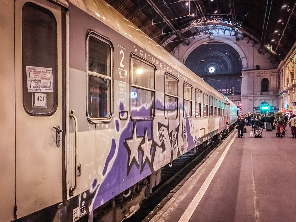 Liegewagen Serbien Budapest Keleti