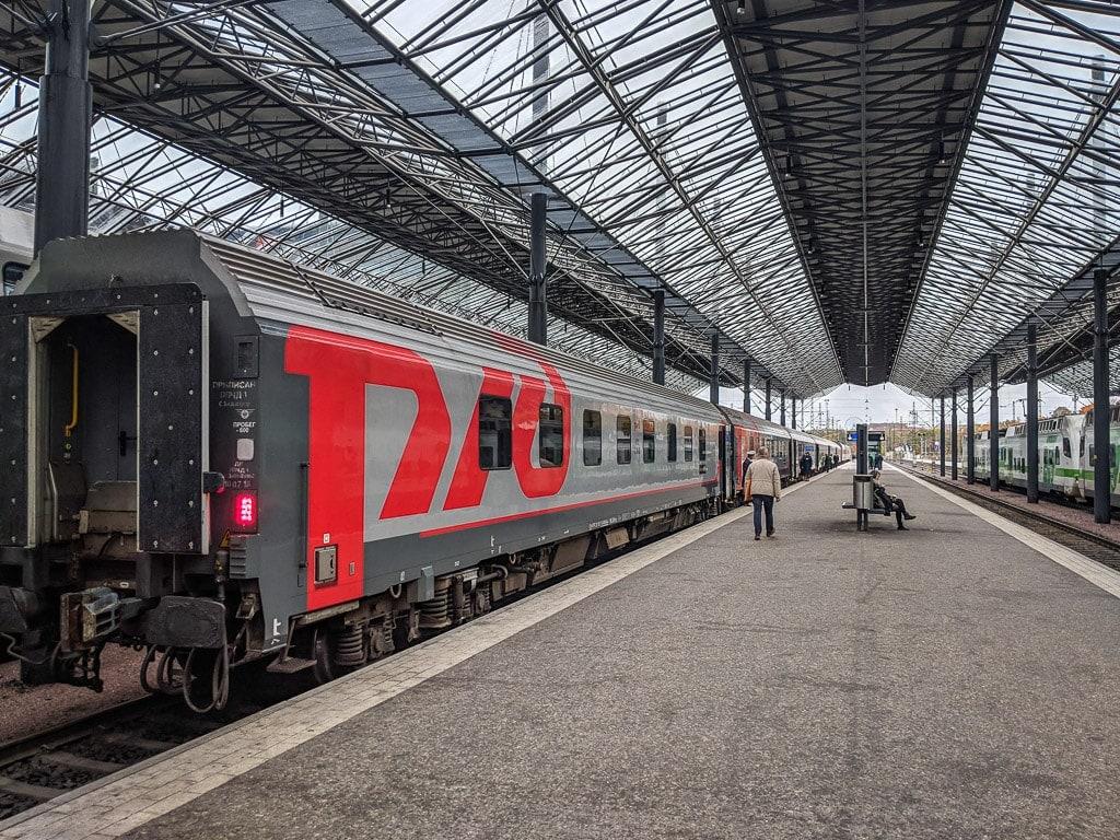 Nachtzug Tolstoi von Helsinki nach Moskau