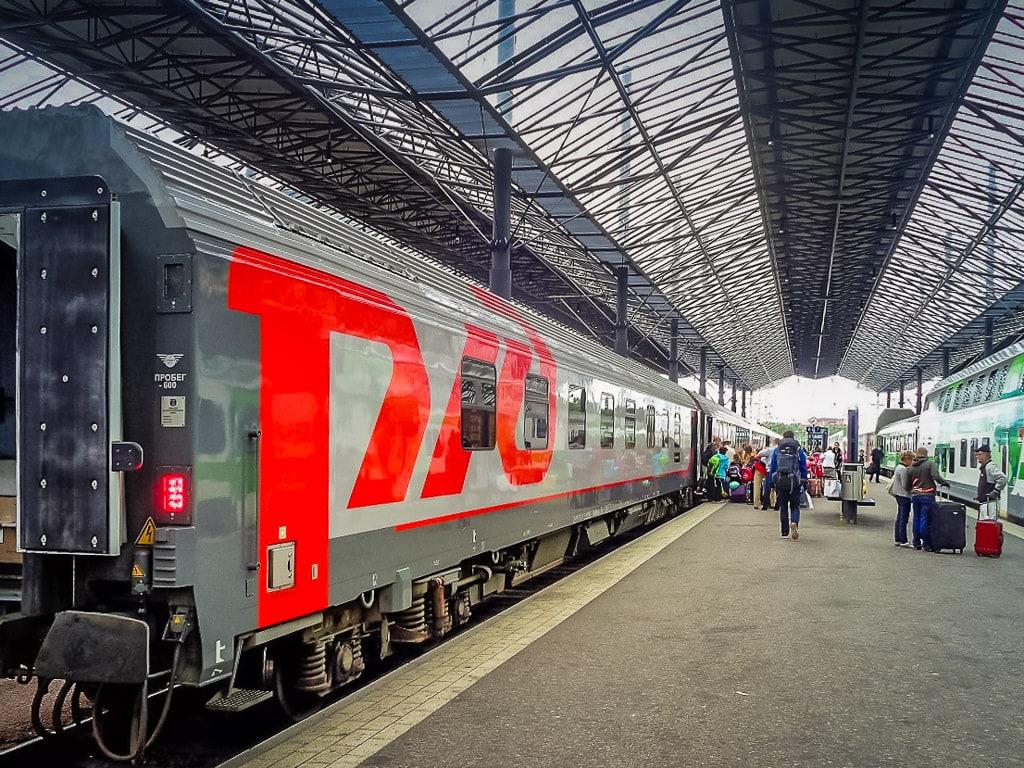 Tolstoi Nachtzug Helsinki Moskau