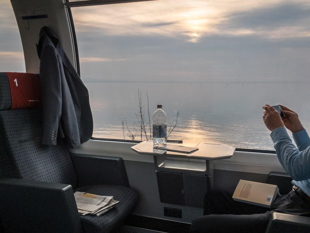 Panoramawagen SBB Eurocity Bodensee