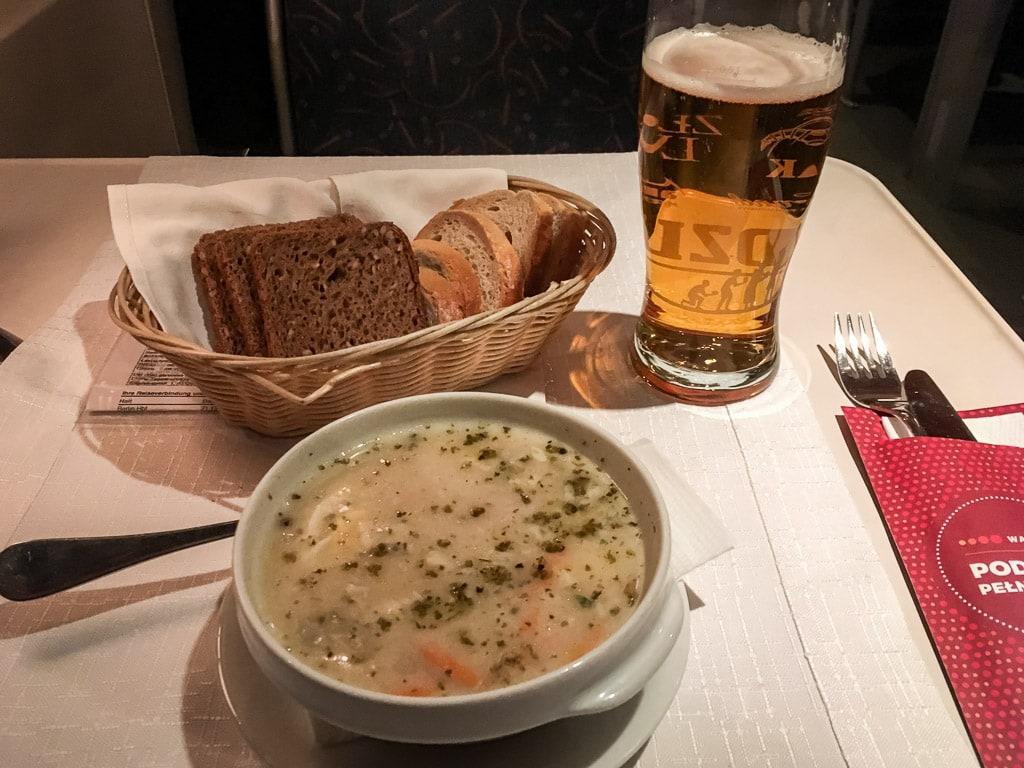 Zurek im polnischen Speisewagen