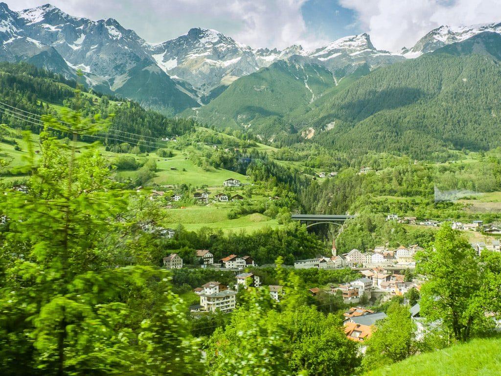 Arlbergbahn Wien Innsbruck Zürich