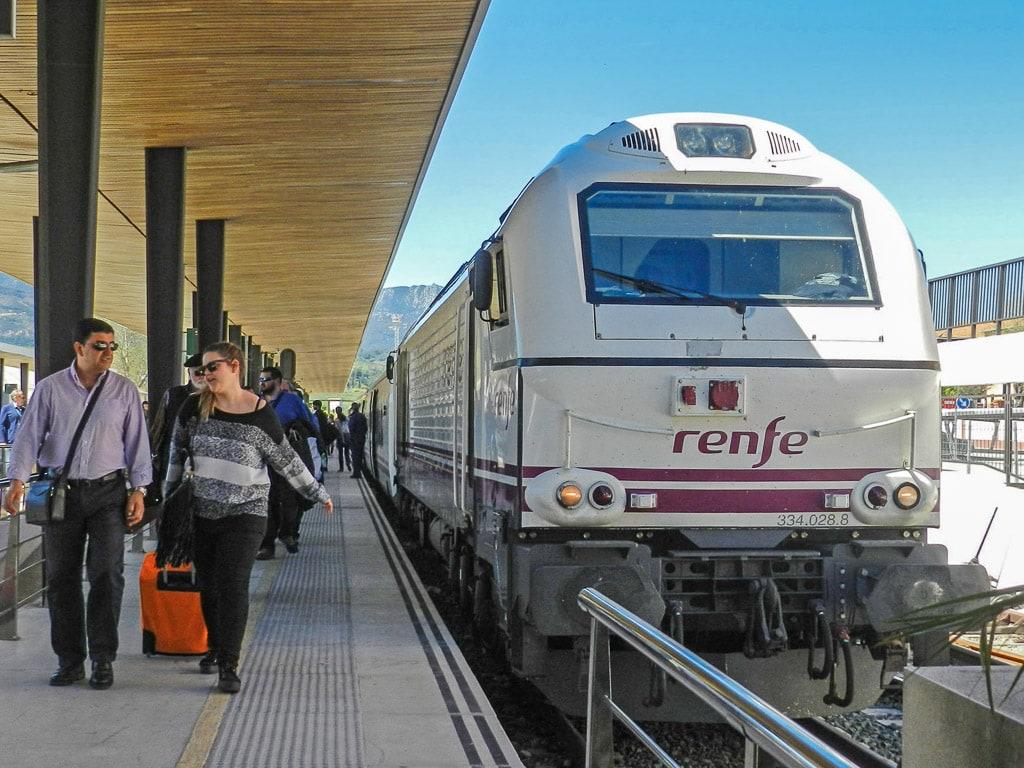 Zug Renfe Algeciras