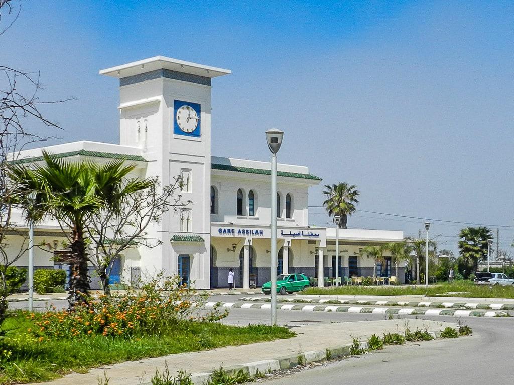 Bahnhof Asilah Marokko