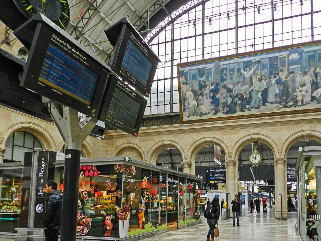 Bahnhof Paris Est