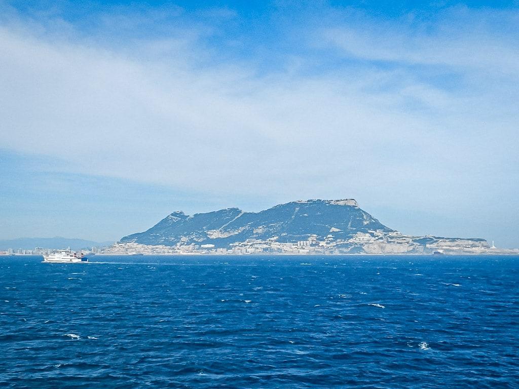 Felsen Gibraltar