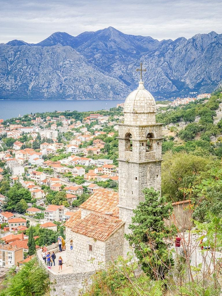 Kotor Montenegro Aussicht Kirche