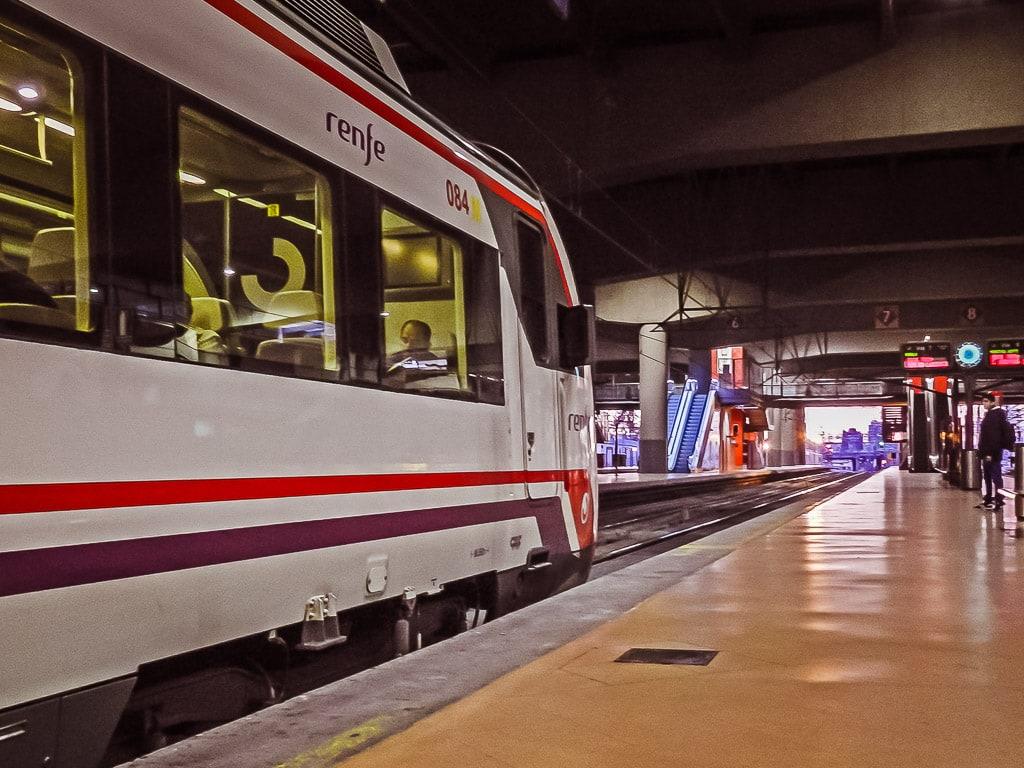 S-Bahn Madrid Atocha
