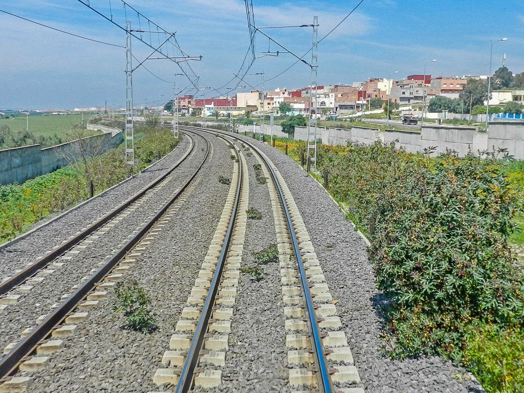 Eisenbahn Marokko Bahnstrecke Asilah–Meknès
