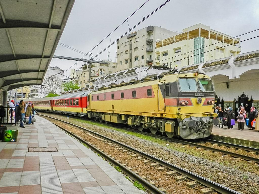 Bahnhof Meknès Marokko