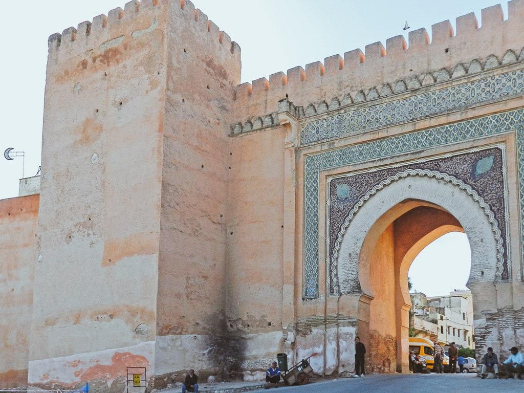 Stadttor Meknès Marokko