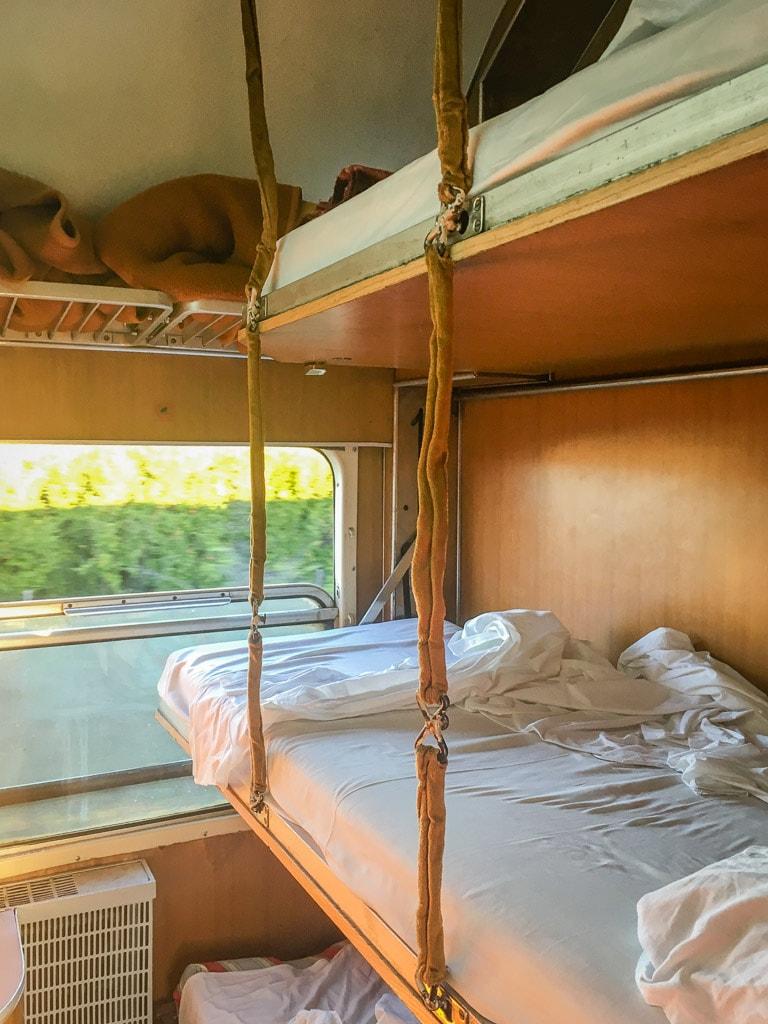 Schlafwagen Nachtzug Belgrad Bar Montenegro