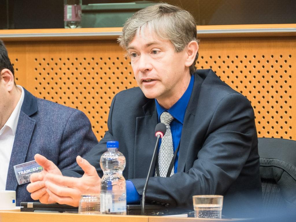 Libor Lochman CER Nachtzug Konferenz Brüssel
