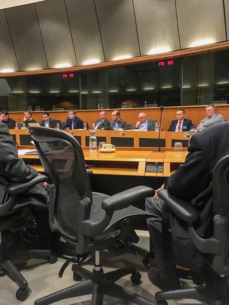 Nachtzug Konferenz Brüssel EU Parlament Wettbewerb Kooperation