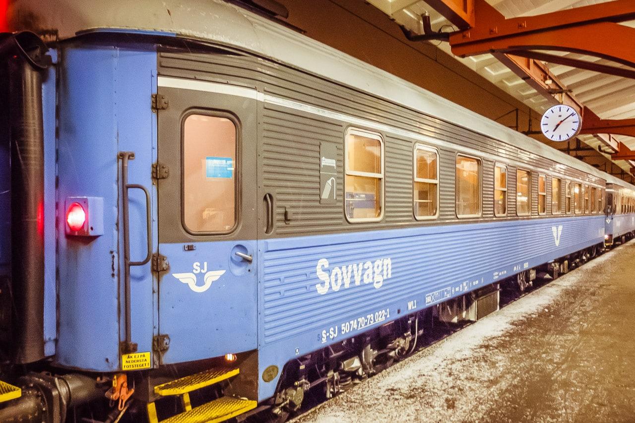 Nachtzug nach Europa: Ein Konzept für Dänemark und Schweden