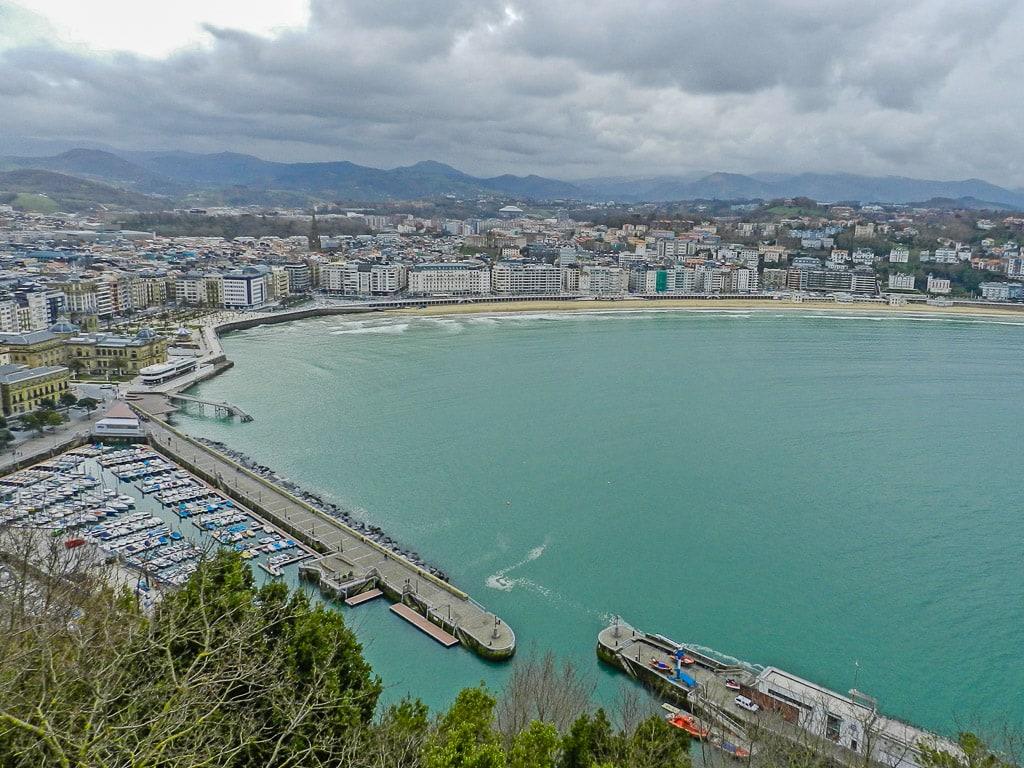 San Sebastian Aussicht
