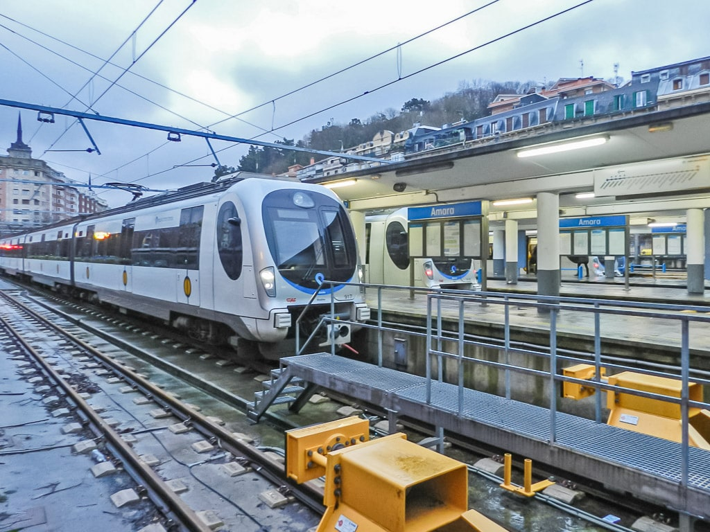 Euskotren Bahnhof San Sebastian