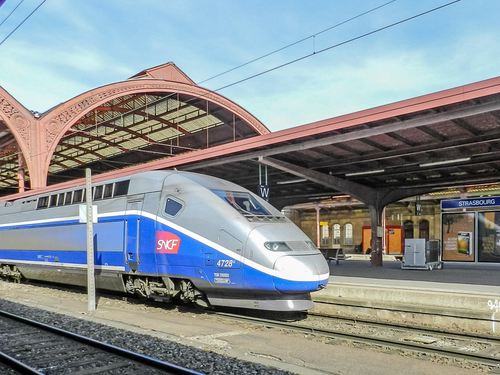 Bahnhof Straßburg TGV