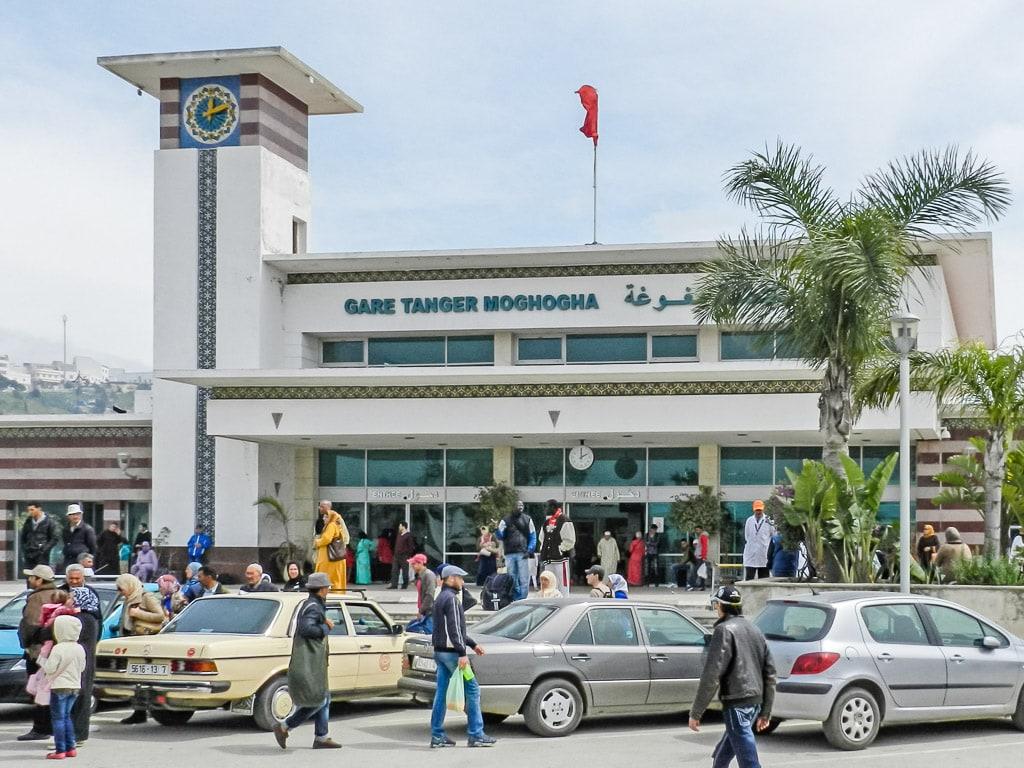 Bahnhof Tanger Marokko